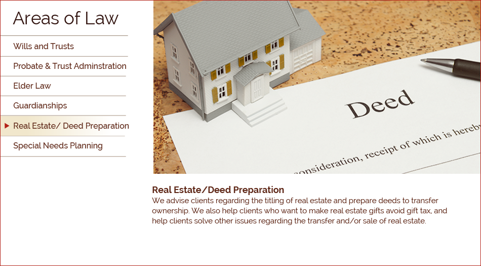 Real Estate / Deed Planning